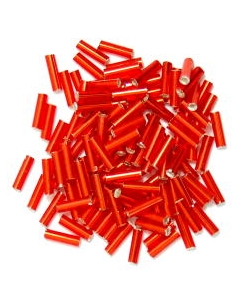 Bugle Beads 6mm in Red