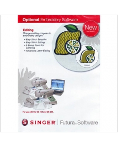Singer Futura Editing Software