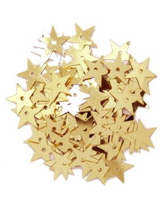 Large Stars 10mm in Gold