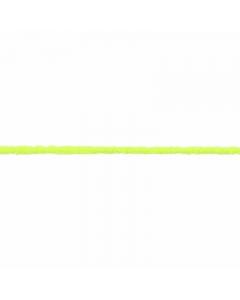 florescent yellow fuzzy elastic