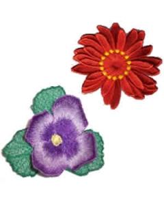 8 set of 3D Flower Embroidery Design
