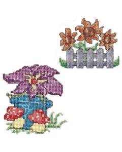 Garden Cross Stitch Machine Embroidery Designs