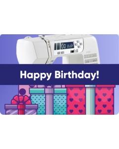 Happy Birthday E-Gift Card