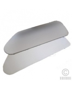 Silver Gp9 Steam Press Teflon Coated Cover With Padding