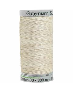 Gutermann Sulky Cotton Thread 300M Cream, Beige Col.4001