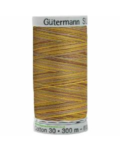 Gutermann Sulky Cotton Thread 300M Brown,Yellow Col.4009