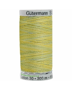 Gutermann Sulky Cotton Thread 300M Lime, Yellow Col.4017