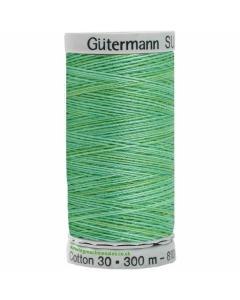 Gutermann Sulky Cotton Thread 300M Jade, Greens Col.4018