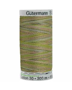Gutermann Sulky Cotton Thread 300M Fawn, Green Col.4020
