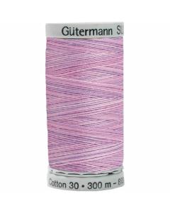 Gutermann Sulky Cotton Thread 300M Pink, Purple Col.4025