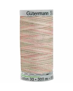 Gutermann Sulky Cotton Thread 300M Beige, Green, Red Col.4026
