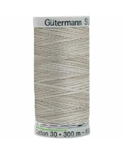 Gutermann Sulky Cotton Thread 300M Beige, Grey Col.4027