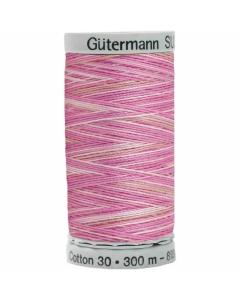 Gutermann Sulky Cotton Thread 300M Mixed Pink, Beige Col.4030