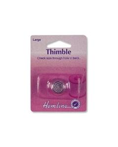 Small Metal Sewing Thimble 16mm