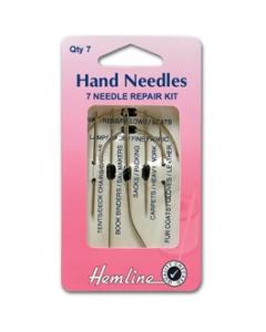 Repair Set of Hand Sewing Needles