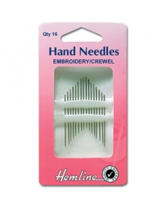 Embroidery or Crewel Needles