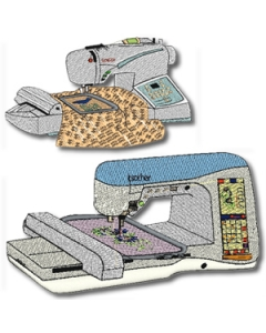 Designs of popular embroidery sewing machines