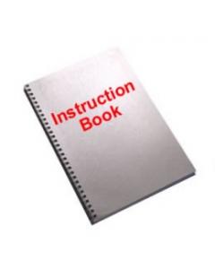 Toyota CU37 Sewing Machine  Instruction Book