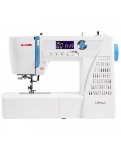 Front view of the Janome 5060QDC