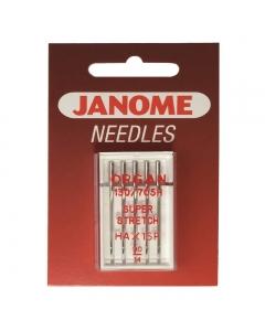 Medium size 14/90 Janome super stretch needles
