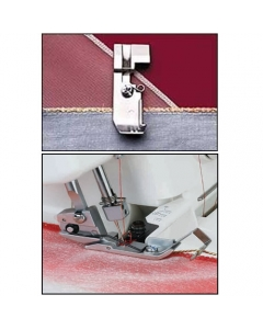 Image showing both types of Janome cording feet