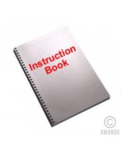 Janome 502 Combi DX Book