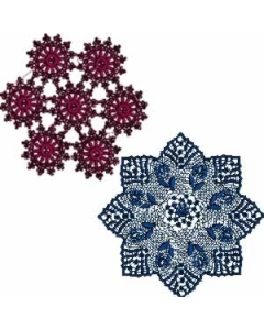 10 Set of Decorative Lace for Linen Embroidery Design