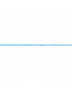 light blue fuzzy elastic