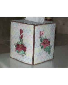 Beautiful Tissue Box Embroidery Design