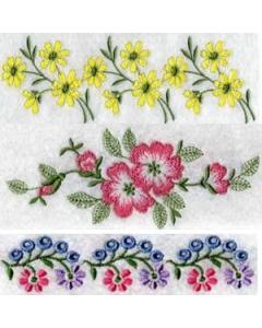 Border embroidery designs