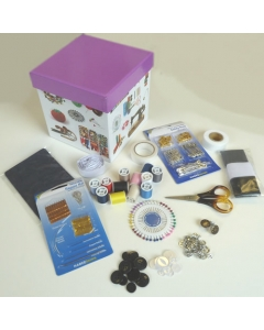Make-do-and-mend sewing kit