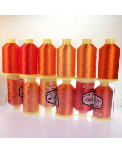 Marathon Orange/Gold rayon collection