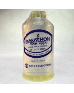 Marathon Machine Embroidery Thread Lemon Chiffon 1001 1000m Rayon Thread