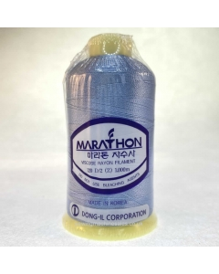Marathon Machine Embroidery Thread Mist Blue 1057 1000m Rayon Thread