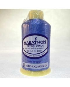 Marathon Machine Embroidery Thread Dark Slate Blue 1063 1000m Rayon Thread
