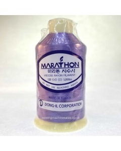 Marathon Machine Embroidery Thread Dull Purple 1081 1000m Rayon Thread