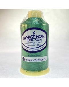 Marathon Machine Embroidery Thread Forest Green 1115 1000m Rayon Thread