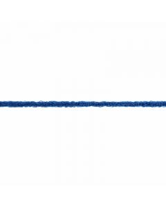 navy blue fuzzy elastic