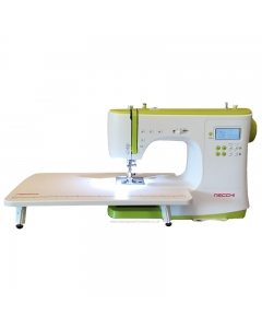 Necchi NC-102D with wide sewing table attached
