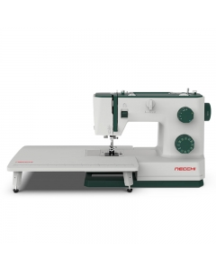 Necchi Q421A with quilting table attached