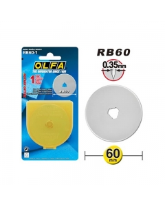 Original OLFA cutting blade 60 mm in size
