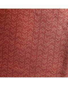 Dark Vintage Rose Arrow Print Fabric