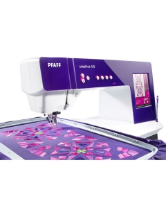 Full embroidery with optional embroidery unit