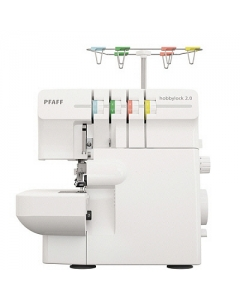 Pfaff Hobbylock 2.0 - Easy overlock machine to use and it has all 15 stitch functions.