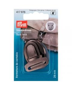 Prym Tuck Lock 26mm Antique Silver