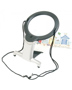 2 in 1 Magnifier with built-in stand