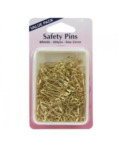 brass value pack safety pins 200pcs