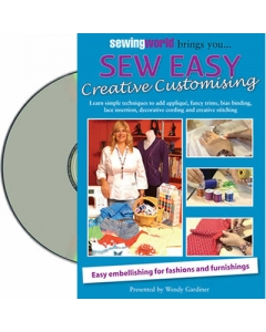 Creative customising DVD for clothing