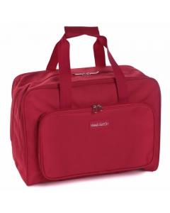 Machine storage bag with zipped side pocket