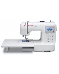 Singer Stylist 9100 with extension table attached